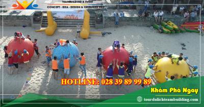 Tour du lịch teambuilding biển Hồ Cốc - Long Sơn 2 ngày 1 đêm