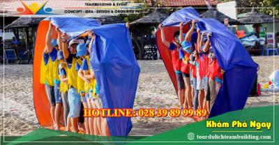 Tour du lịch teambuilding biển + gala lunch Long Hải 1 ngày