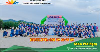 Tour du lịch teambuilding - lửa trại COCO Beach - Lagi 2 ngày 1 đêm