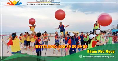 Tour du lịch teambuilding biển + gala lunch Hồ Cốc 1 ngày