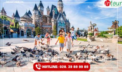 Tour du lịch Vũng Tàu - Đà Nẵng - Hội An - Bà Nà 3 ngày 2 đêm