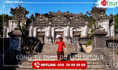 Tour du lịch Thanh hóa - Đà Nẵng - Hội An - Bà Nà - Huế 4 ngày 3 đêm