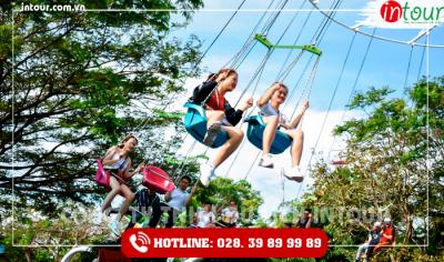 Tour Đà Lạt đi Sài Gòn - Hồ Tràm - Bình Châu - KDL Đại Nam 3 ngày 2 đêm